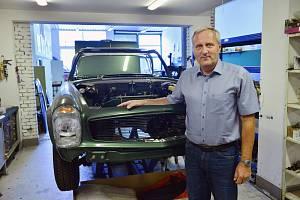 Majitel firmy Classic Auto Petr Fiala