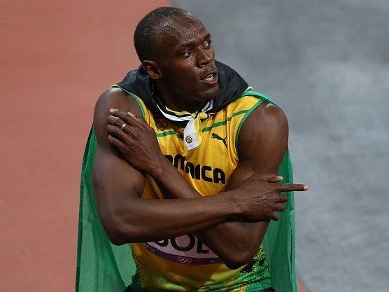 Šampion šampionů Usain Bolt.