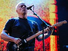 Britský hudebník, kytarista a zpěvák skupiny Pink Floyd David Gilmour.