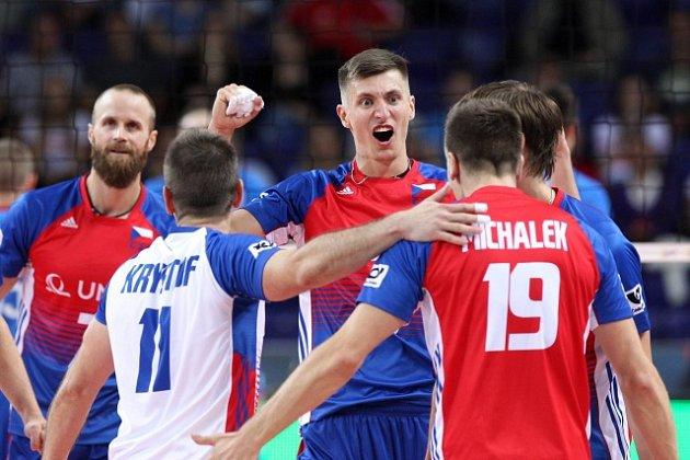 Čeští volejbalisté