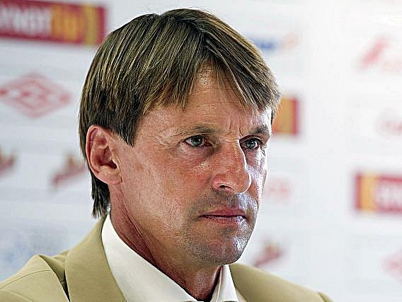 Nový trenér Slavie František Straka.