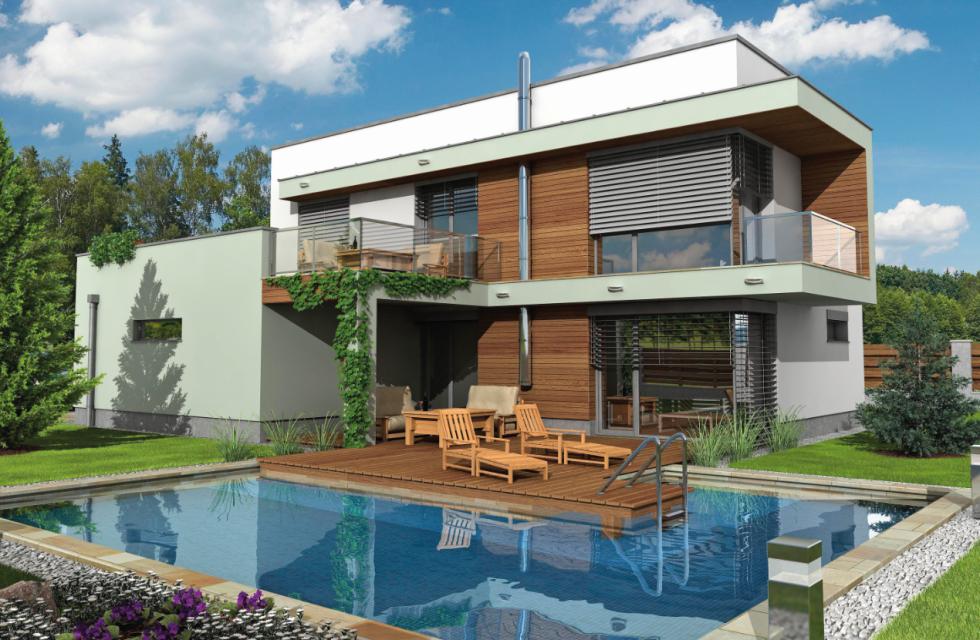 Dům Spruce 20 Passive chrudimské firmy Hoffmann bodoval v soutěži Dům roku 2019 v rámci kategorie monolitické konstrukce.