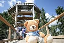 Takový nával adrenalinu zmůže i medvěda. Hugo si musel na chvíli sednout.