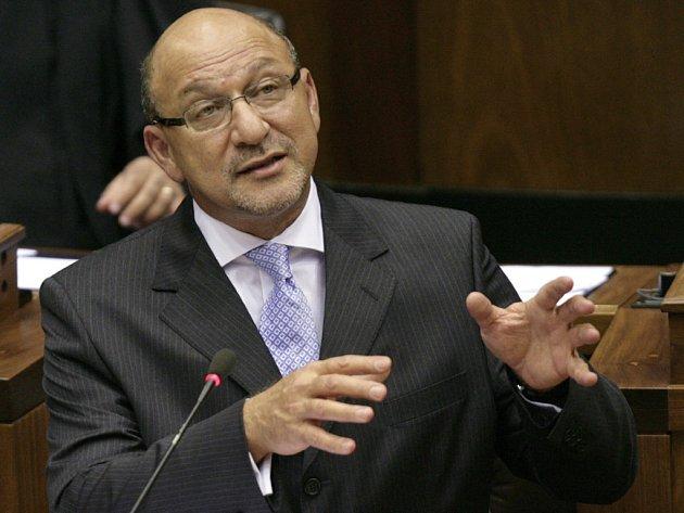 Odstupující jihoafrický ministr financí Trevor Manuel.