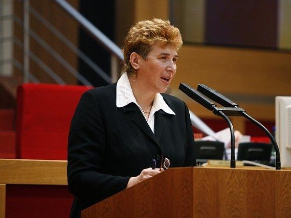 Senátorka Jana Jurenčáková.