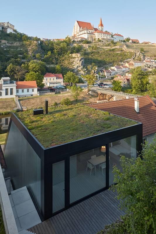 Rodinný dům na znojemském nábřeží Dyje studia Kuba & Pilař architekti