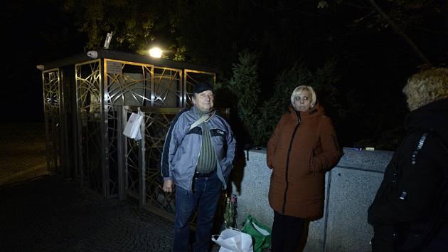 Gottovi fanoušci na Slovanském ostrově