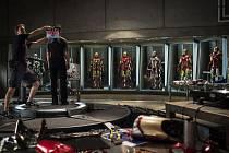 """""""Na Iron Manovi 3 je pozoruhodné to, že se nejedná pouze o vyvrcholení předchozích dvou filmů, ale současně o pokračování Avengers,"""" říká producent Feige."""