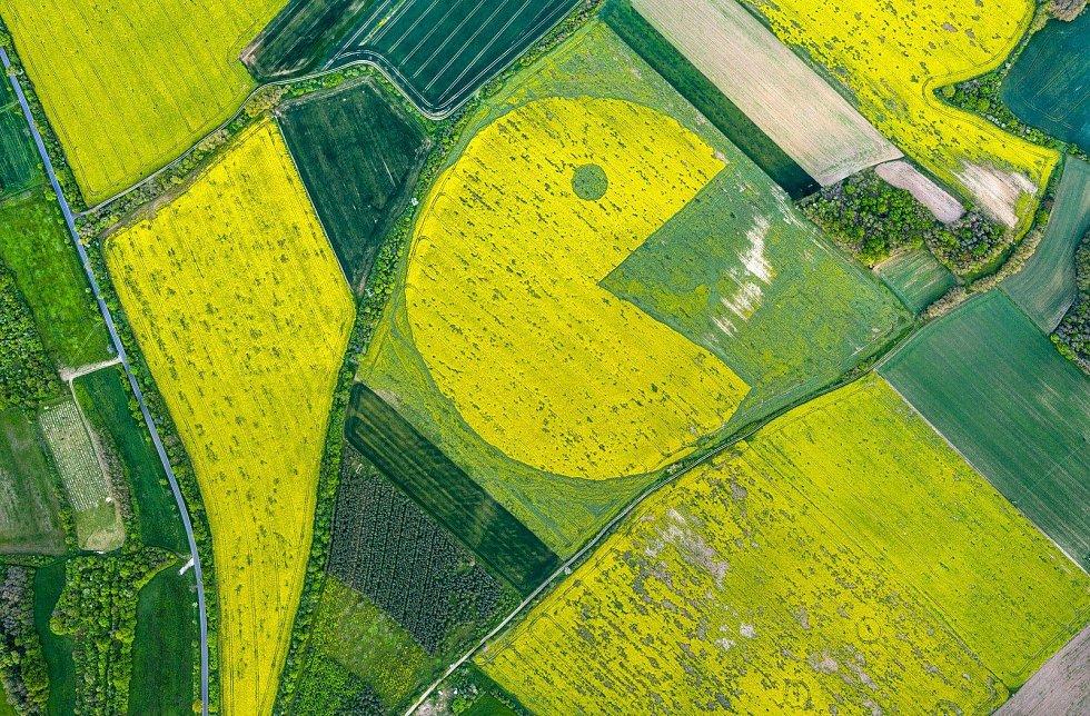 Pac Man pod Řípem