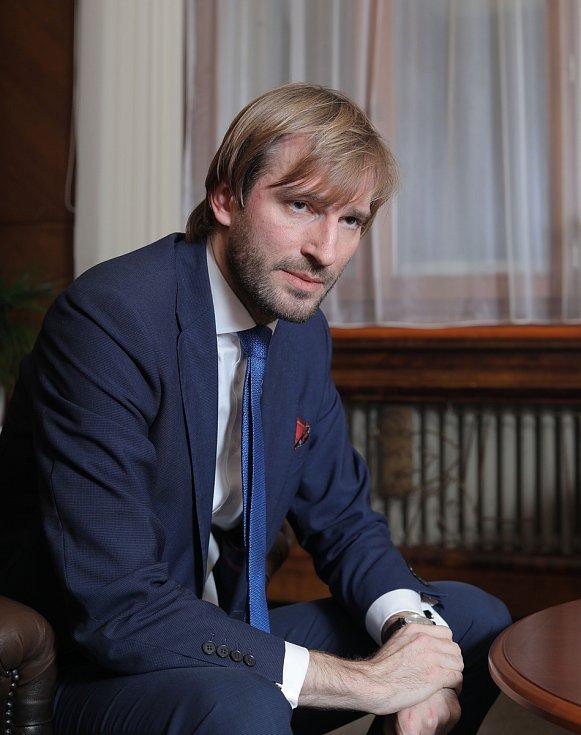 Adam Vojtěch poskytl v Praze rozhovor Deníku.