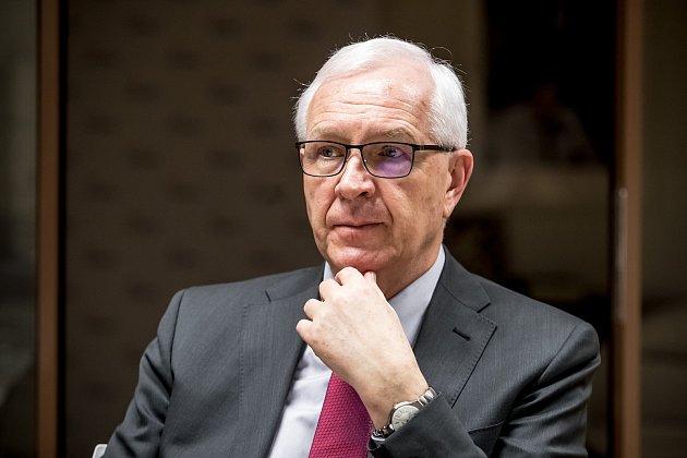 Jiří Drahoš poskytl 3. ledna v Praze rozhovor Deníku.