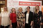 Setkání s kandidáty KSČM do Europarlamentu.