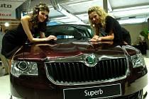 Nový model vozu Škoda Superb