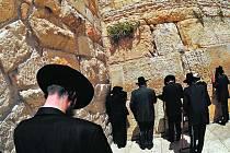 Jeruzalémská Zeď nářků.