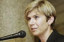 Kateřina Neumannová vyzvala liberecké stavební firmy, Technickou univerzitu a Dopravní podnik, aby odpustily své pohledávky vůči organizačnímu výboru mistrovství světa v klasickém lyžování v roce 2009 v Liberci.