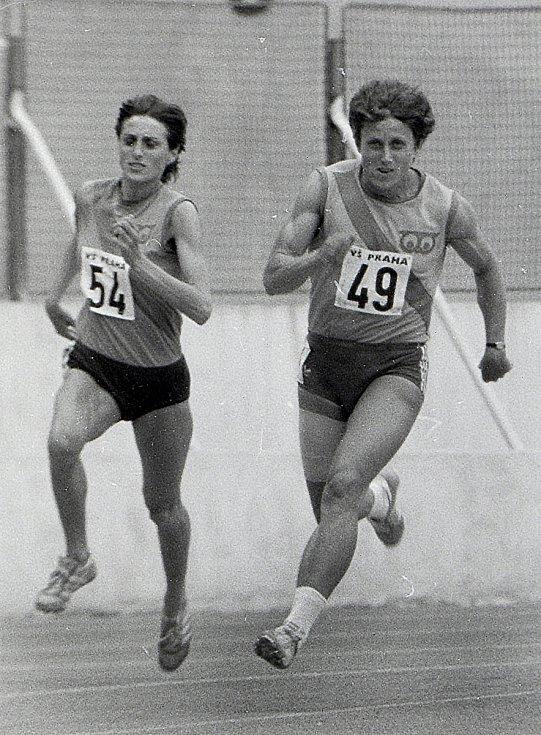Jarmila Kratochvílová v roce 1982