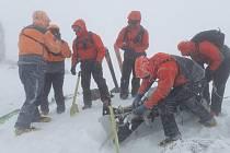 smrt českých skialpinistů v Nízkých Tatrách; zásah Horské služby