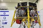 """Sonda """"Beresheet"""" izraelské společnosti SpaceIL"""