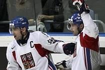 Radost hokejových švagrů