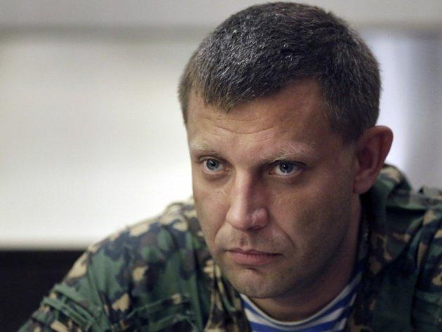 Premiér samozvané Doněcké lidové republiky Alexandr Zacharčenko.