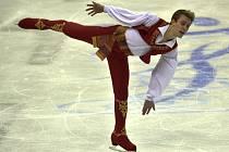Michal Březina během neúspěšného vystoupení na mistrovství Evropy