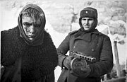 Zubožený německý voják v sovětském zajetí