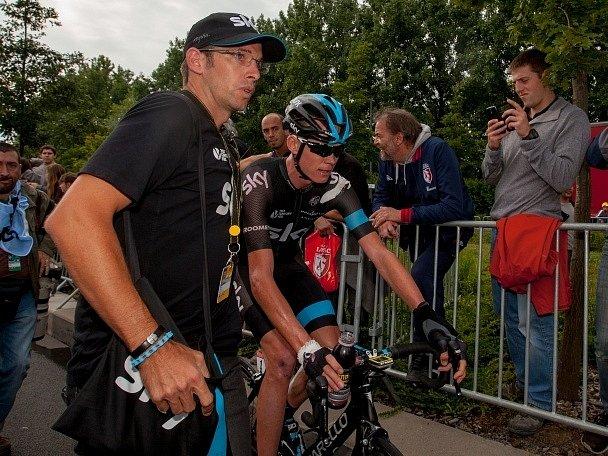 Pro loňského vítěze Chrise Frooma skončila letošní Tour de France hodně brzy.