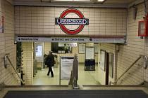 Londýnské metro. Ilustrační foto