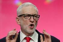 Vůdce britských labouristů Jeremy Corbyn