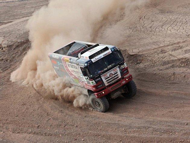 Martin Kolomý na Rallye Dakar 2015.