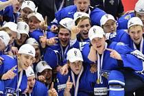 Hokejisté Finska se stali mistry světa do dvaceti let.