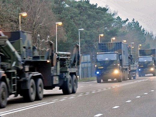 Střely Patriot na cestě do Turecka
