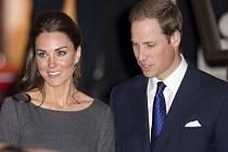 Vévodkyně Catherine a princ William