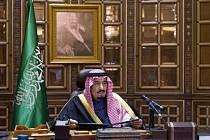Král Salmán bin Abd al-Azíz.