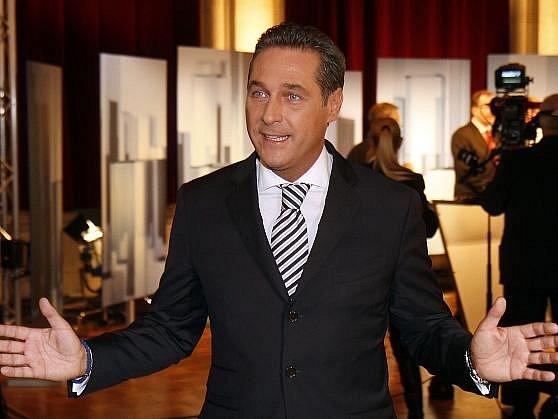 Šéf Svobodné strany Rakouska (FPÖ) Heinz-Christian Strache.