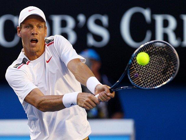 Tomáš Berdych na Australian Open.