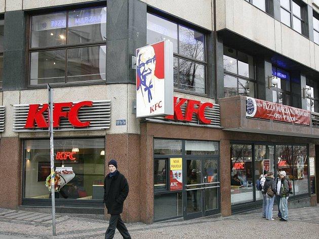 Řetězec KFC se zabydlel i v České republice.