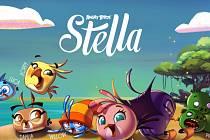 Mobilní hra Angry Birds Stella.