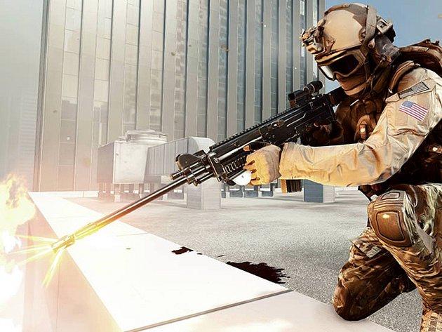 Počítačová hra Battlefield 4.