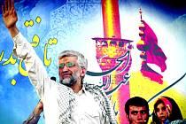 Mírný favorit voleb Saíd Džalílí lákal spíš ty, kterým současný stav víceméně vyhovuje.