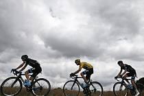 Leopold König na Tour de France ve společnosti Chrise Frooma
