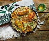 Kuřecí stehna s citronovou rýží