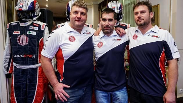 Martin Kolomý a jeho tým pro Dakar