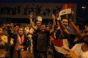 Oslavy vítězství v Mosulu
