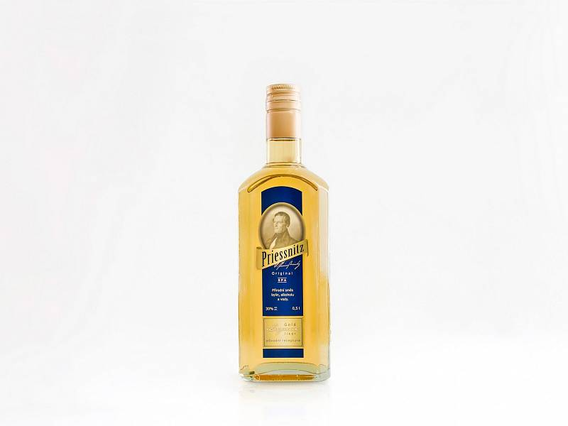 Lázeňský bylinný likér Priessnitz je vyráběný výhradně pro Priessnitzovy lázně v Jeseníkách.