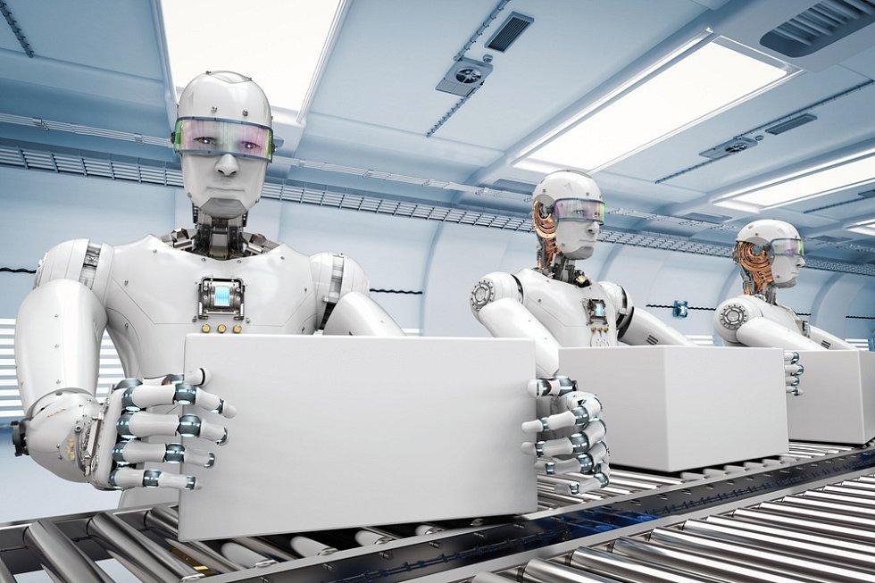 Roboti a práce - Ilustrační foto