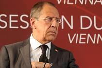 Šéf ruské diplomacie Sergej Lavrov.