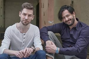(zleva) Lukáš Trpišovský a Martin Kukučka