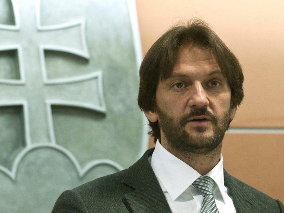 Ministr vnitra Robert Kaliňák.