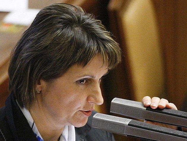 Poslankyně KDU - ČSL Michaela Šojdrová.